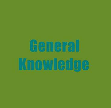 General Knowledge (GK)
