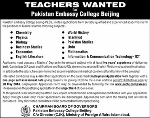 teaching jobs abroad- China
