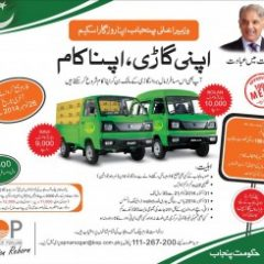 CM Punjab Apna Rozgar Scheme District Wise 2nd Draw List, Selected Candidates