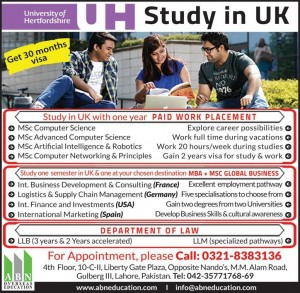Study in UK Get 30 Months Visa with 1 Year Paid Work Placement