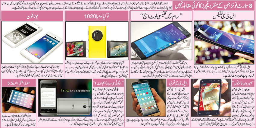 Top 8 latest Best Selling Smart Phones (In Urdu)