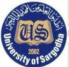 University of Sargodha DPT, BS AHS & Pharm-D Admission 2020