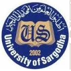 University of Sargodha UOS MCom Admission 2019 Schedule, Fee & Form