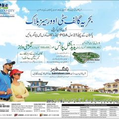 Bahria Town Karachi-Bahria Golf City Overseas Block Form, Prices