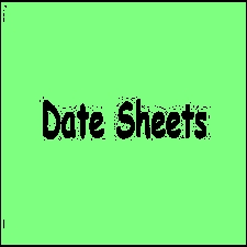 All Punjab Boards Matric & Inter Date Sheets 2020, Download