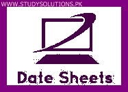 Karachi Board 9th 10th Class General Group Date Sheet 2020