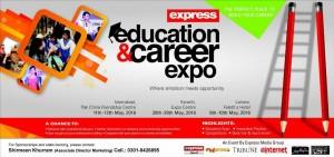 Express Education & Career Expo 2016 Karachi, Lahore & Islamabad
