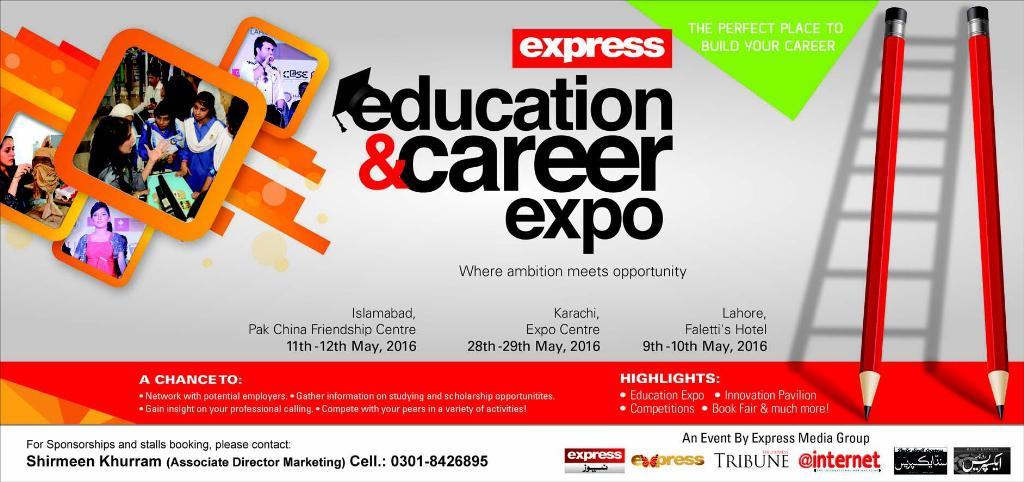 Express Education & Career Expo 2019 Karachi, Lahore & Islamabad