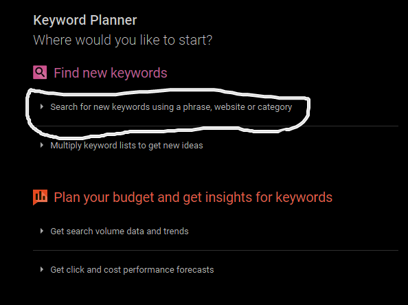 Free SEO Tutorial - How To Use New Google Keyword Planner