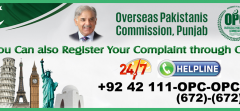 Overseas Pakistani Helpline Number & Online Complaint Registration