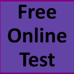 Free Online Test Facility For All Entry & Standardized Tests