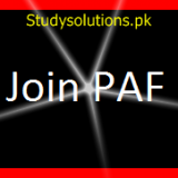 Join PAF as Aero Trade, GC, Provost & PF&DI 2021