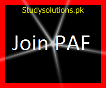 Join Pak Air Force 2019-Online Quiz with Solved MCQs on PAF Jobs Test