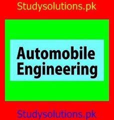 Career & Scope of Automotive Engineering or Automobile Engineering