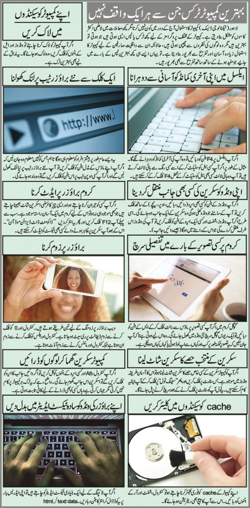 Computer Tips and Tricks in Urdu For Beginners