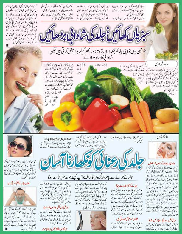 Skin Care Tips in Urdu For All