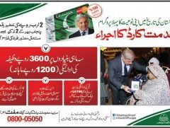 Punjab Government Khidmat Card Scheme-Registration & Procedural Details in Urdu