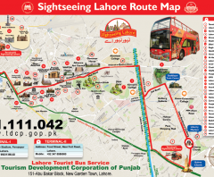 Double Decker Bus Tour Lahore-Route, Booking, Fare, Schedule
