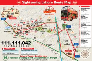 Double Decker Bus Tour Lahore-Route, Booking, Fare, Schedule
