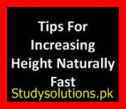 How To Increase Height ? Super Tips in English & Urdu