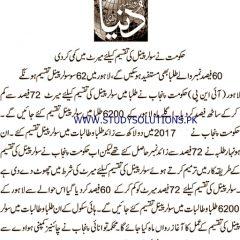Breaking News About Shahbaz Sharif Solar Panel Scheme 2019