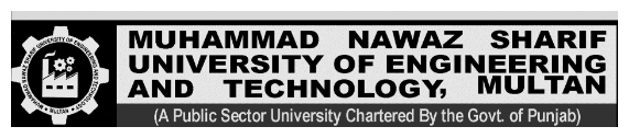 Muhammad Nawaz Sharif MNS UET Multan Merit List 2017