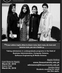 ILMA University Admission 2019, Program, Form, Last Date
