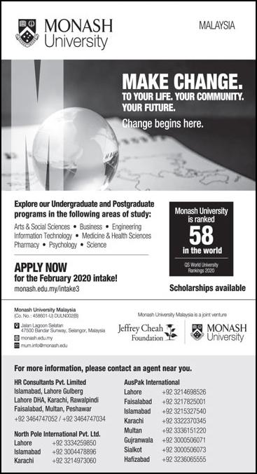 Monash University Malaysia Admission 2020, Scholarships