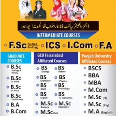 NISA Girls Colleges Admission 2021 in All Campuses