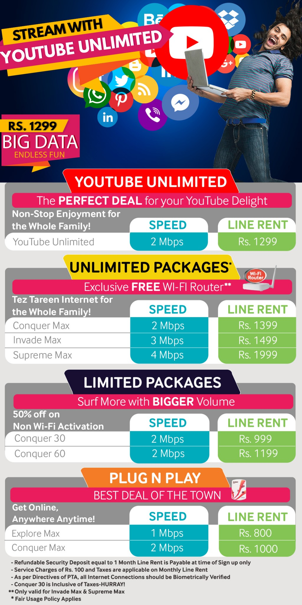 All Latest Qubee Internet Packages 2019 (Limited & Unlimited)