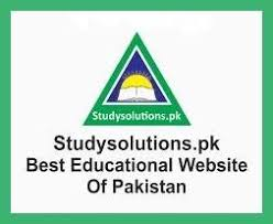 STUDY SOLUTIONS FOR ALL