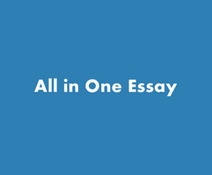 All in One Essay