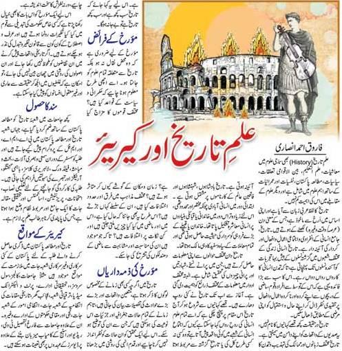 Scope of Studying History, Career, Jobs, Duties of Historian (Urdu-English)