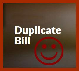 Duplicate Bill