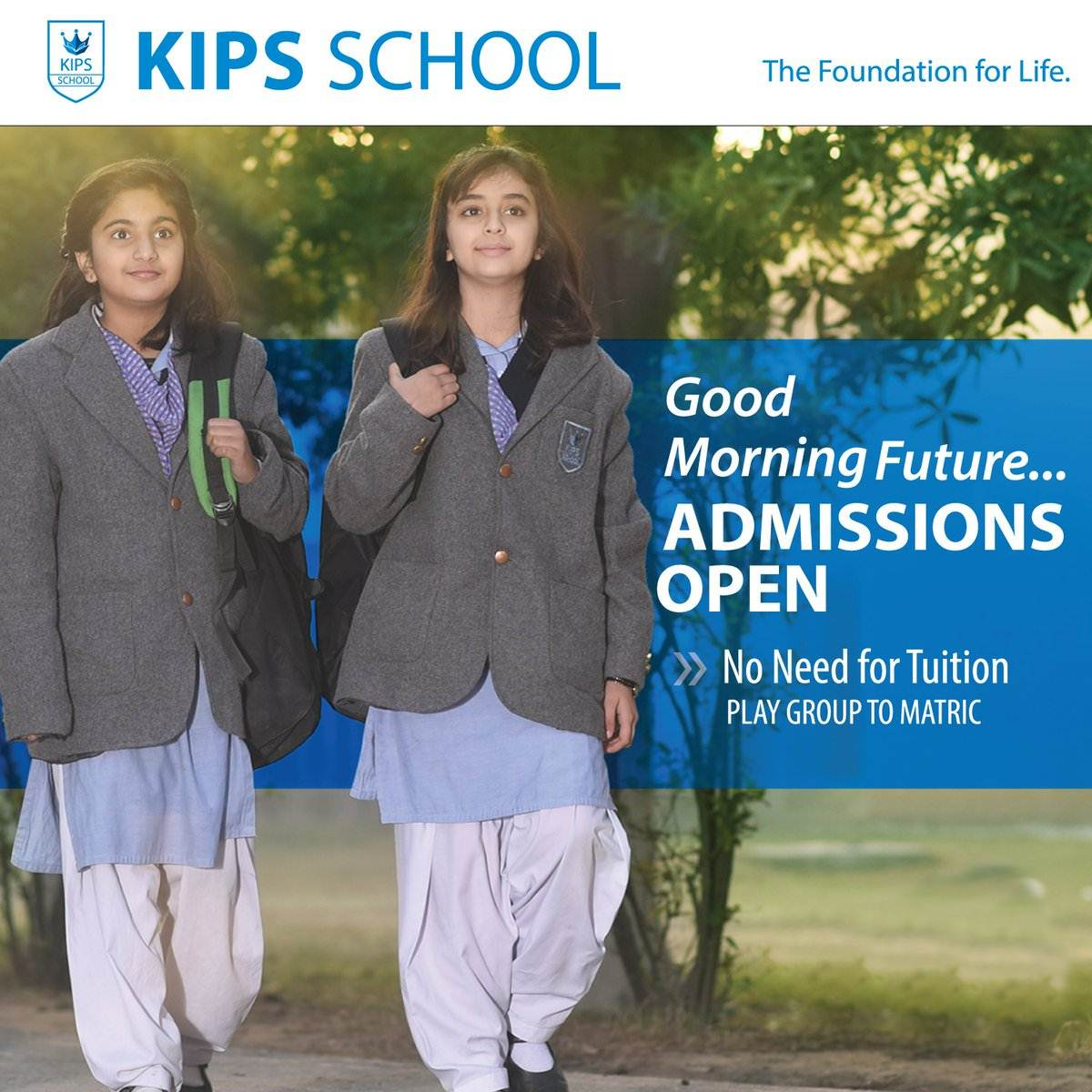 Kips School Lahore Admission 2020 From PG to 9th, Fee Structure