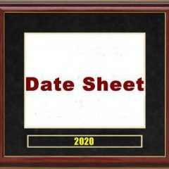 How To Make VU Date Sheet 2021 For Any Exam on Vulms? Step By Step Guide