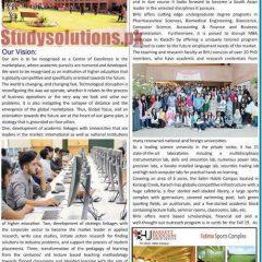 Barrett Hodgson University BHU Karachi Admission 2019