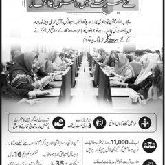 CM Punjab & PITB Erozgar Training Program Admission 2021