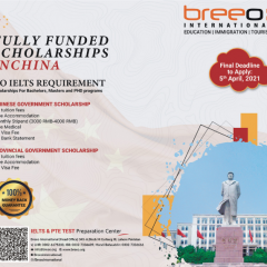 Get Fully Funded Scholarships in China For Pakistani Students 2021