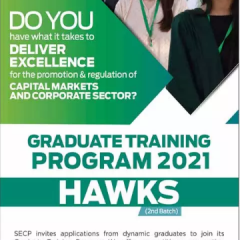 SECP Graduate Training Program 2021 (HAWKS), Apply Online